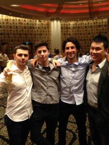 The owners behind STM - Besmir, Jordan, and Lorenzo Green.